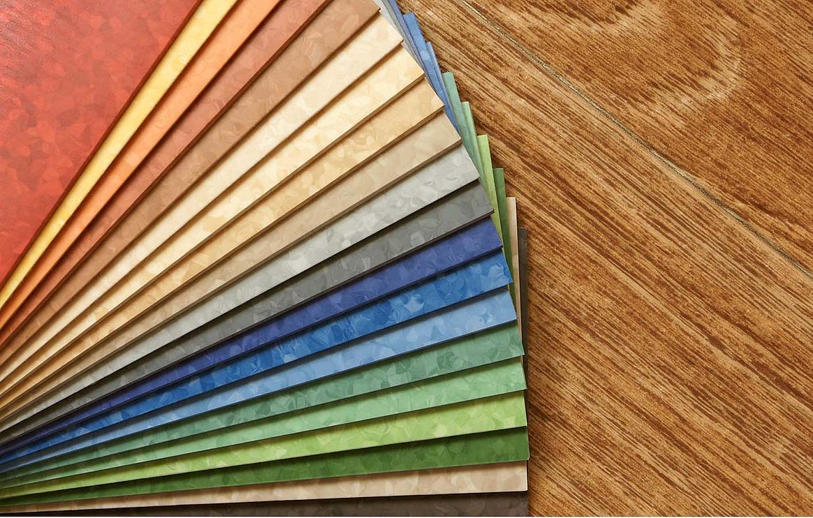 Linoleumboden  Linoleum: Holz-Bauer